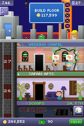 Tiny Tower - Wedding Chapel