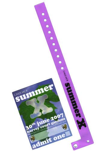 Summer X wristband
